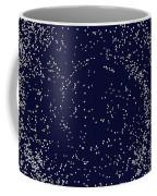 Mosaic Galaxy Midnight Blue Coffee Mug
