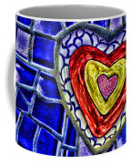 Mosaic Heart By Diana Sainz Coffee Mug
