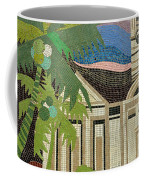 Mosaic Of Church With Palm Tree Coffee Mug