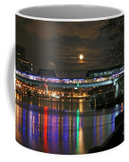 Moscow At Night In Winter Coffee Mug