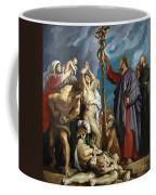 Moses And The Brazen Serpent Coffee Mug