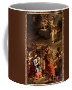 Moses Descends From Mount Siniai With The Ten Commandments Coffee Mug