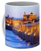 Mosque-cathedral And The Roman Bridge In Cordoba Coffee Mug