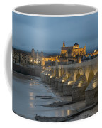 Mosque Cathedral Of Cordoba Also Called The Mezquita And Roman Bridge Coffee Mug