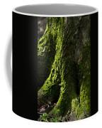 Moss Covered Tree Trunk Coffee Mug by Christina Rollo