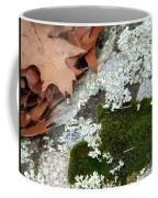 Mossy Leaves Coffee Mug