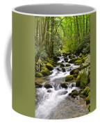 Mossy Mountain Stream Coffee Mug