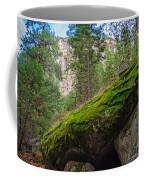 Mossy Rocks Along Vernal Falls Trail Coffee Mug