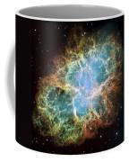 Most Detailed Image Of The Crab Nebula Coffee Mug by Adam Romanowicz