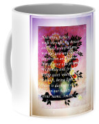 Most Powerful Prayer With Flowers In A Vase Coffee Mug