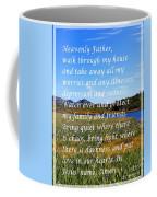Most Powerful Prayer With Irises Coffee Mug