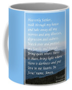 Most Powerful Prayer With Ocean View Coffee Mug