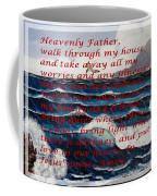 Most Powerful Prayer With Ocean Waves Coffee Mug
