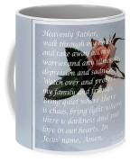 Most Powerful Prayer With Rosebud Coffee Mug