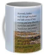 Most Powerful Prayer With Seashore Coffee Mug