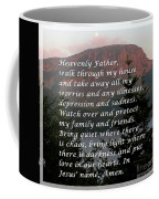 Most Powerful Prayer With Sunset And Moon Coffee Mug