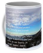 Most Powerful Prayer With Winter Scene Coffee Mug