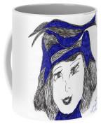 Mostly Black Coffee Mug