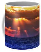 Mostly Cloudy Coffee Mug