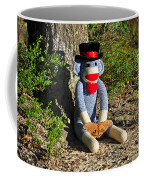 Monkey And Moth Coffee Mug
