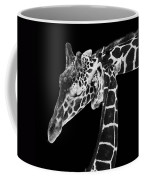 Mother And Baby Giraffe Coffee Mug by Adam Romanowicz