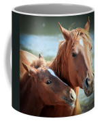 Mother And Filly Coffee Mug