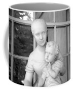 Mother And Child Statue Coffee Mug