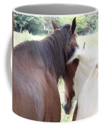 Mother And Daughter Private Moment Coffee Mug