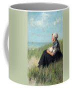 Mother In The Dunes Coffee Mug
