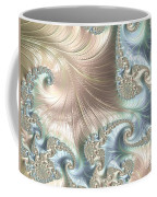 Mother Of Pearl - A Fractal Abstract Coffee Mug