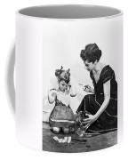 Mother Scolding Tearful Child Coffee Mug