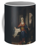 Mother Watching Her Child Coffee Mug