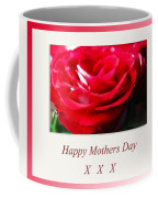 Mothers Day A Red Rose Coffee Mug