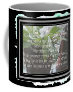 Mother's Day Greeting And Angel Coffee Mug