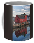 Motifs Long Reflection Coffee Mug