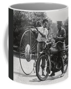 Motorcycle And Velocipede - 1921 Coffee Mug