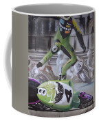 Kawasaki Motorcycle Crash Coffee Mug