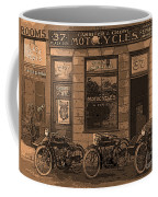 Motorcycles And Furnished Rooms Coffee Mug