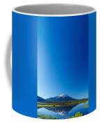 Mount Bachelor And Sky Coffee Mug