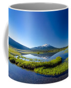 Mount Bachelor And Sparks Lake Coffee Mug
