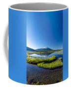 Mount Bachelor Vertical Reflection Coffee Mug