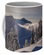 Mount Baker Snowscape Coffee Mug by Mike Reid