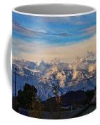 Mount Baldy On A New Years Eve Coffee Mug