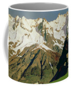 Mount Blanc Mountains Coffee Mug