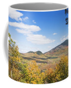 Mount Blue State Park In Fall Weld Maine Coffee Mug