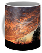 Mount Cheaha Sunset-alabama Coffee Mug