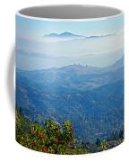 Mount Diablo From Mount Tamalpias-california Coffee Mug