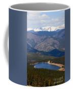 Mount Evans And Echo Lake Coffee Mug