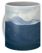 Mount Evans In Snow Coffee Mug