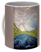 Mount Hood Night Sky Coffee Mug
